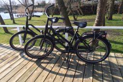 tijdens het verblijf kan gebruik gemaakt worden van 2 fietsen