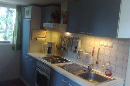overzichtelijke keuken met inbouw apparatuur
